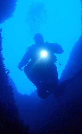 diving continente blu